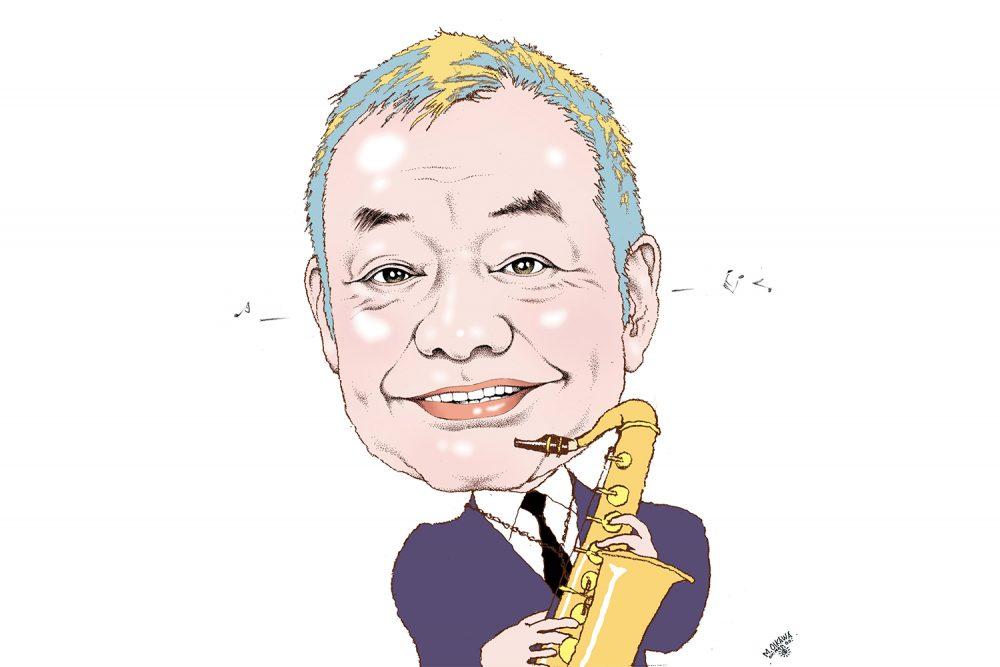 和田誠さんへのオマージュイラストレーション(第1回・及川正通さん)