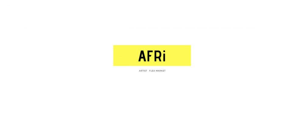 アーティストによるフリーマーケット「AFRi」が開催