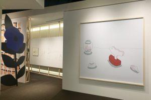 【展覧会レポート】「イラストレーター 安西水丸」展 世田谷文学館で開幕