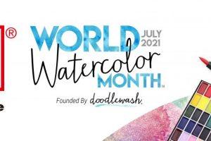 7月は水彩画を楽しもう! 「World Watercolor Month」がまもなく開催
